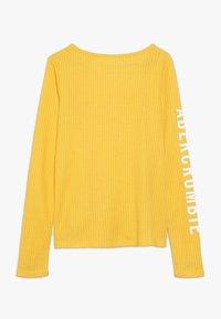 Abercrombie & Fitch - COZY HENLEY  - Trui - yellow - 1