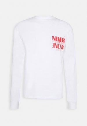 WINSTON TEE UNISEX - Print T-shirt - white