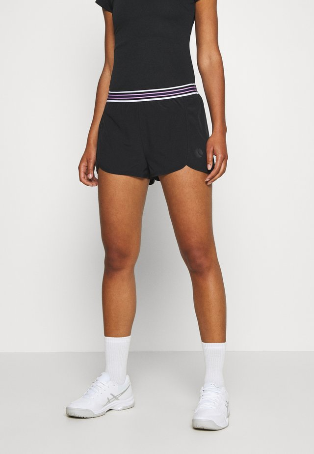 TINE SHORTS - Short de sport - black beauty