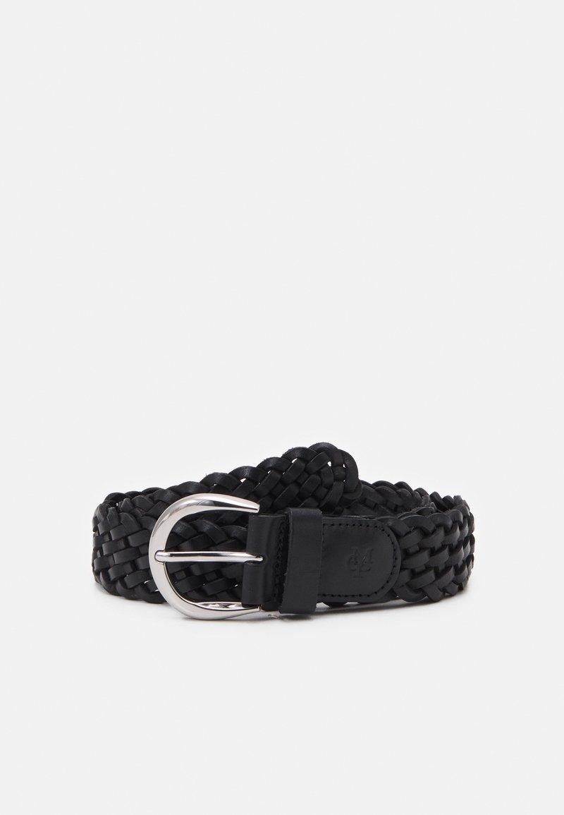 Marc O'Polo - RUNJA - Braided belt - black