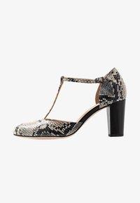 PERLATO - Classic heels - grigio/jamaica noir - 1