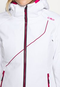 CMP - WOMAN JACKET ZIP HOOD - Ski jacket - bianco - 6