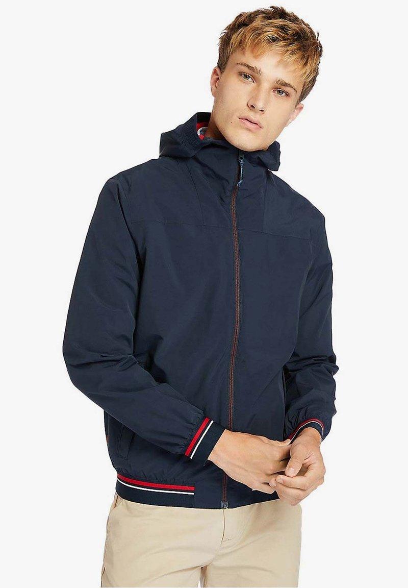 Timberland - COASTAL COOL - Zip-up hoodie - dark sapphire