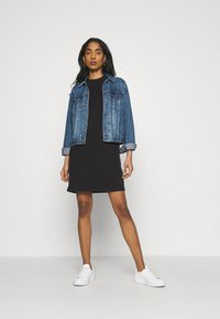 The North Face - TEE DRESS - Jerseykjole - black - 1