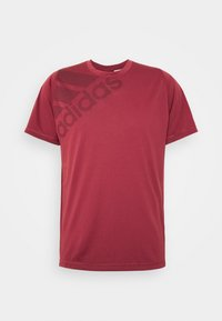 adidas Performance - Camiseta estampada - legred - 3