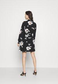 ONLY - ONLWINNER HIGHNECK DRESS - Day dress - black - 2