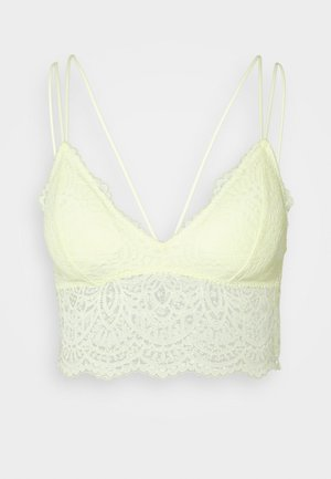 CROCHET LACE - Topp - wax yellow