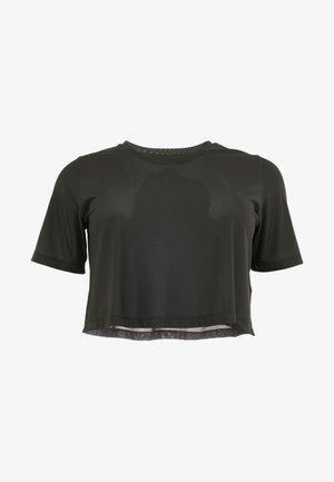 CROP TEE - Basic T-shirt - legend earth