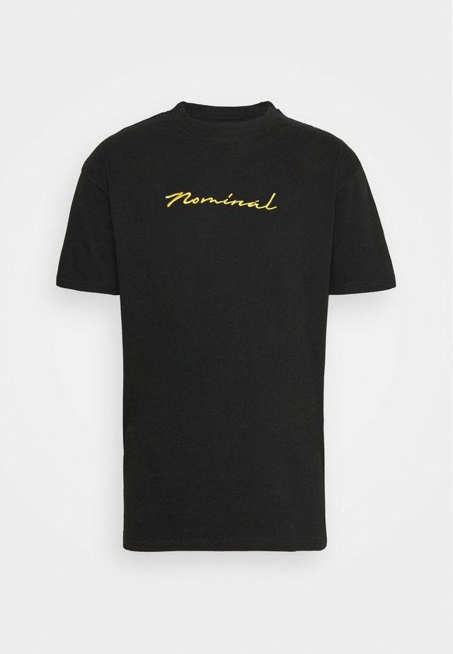 GOLD TEE - T-shirt med print - black