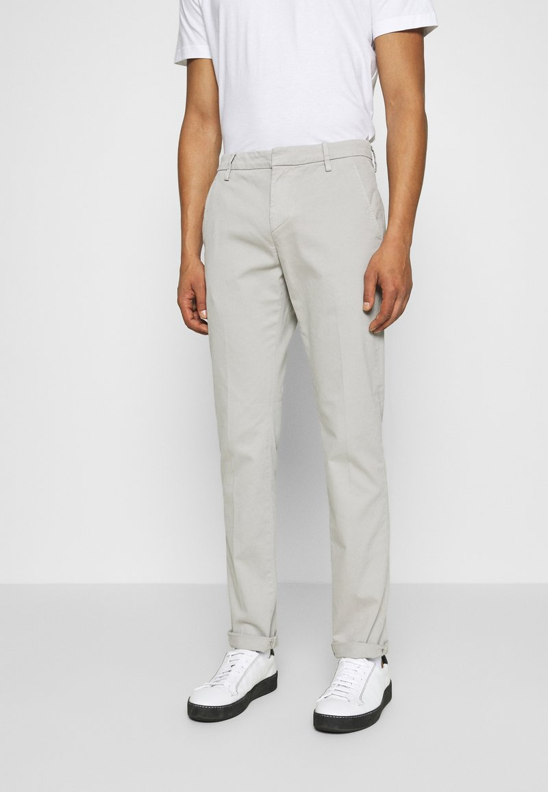 Dondup - PANTALONE GAUBERT - Chino - grey