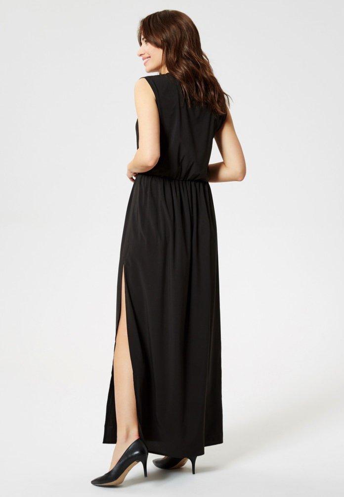 usha Vestito lungo - black - Abbigliamento da donna Perfetto