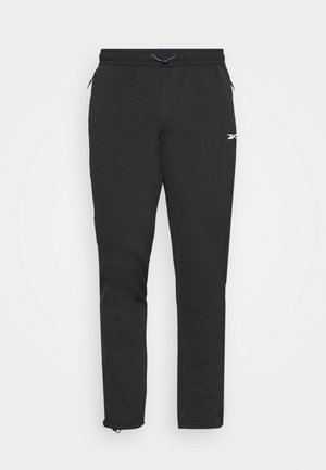 LAYERING PANT - Tracksuit bottoms - black