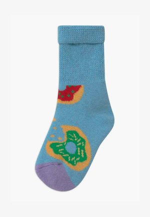 KIDS DONUT COZY UNISEX - Socks - light blue