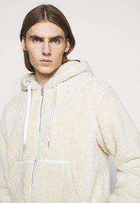 rag & bone - DAMON ZIP HOODIE - Winter jacket - ivory - 3