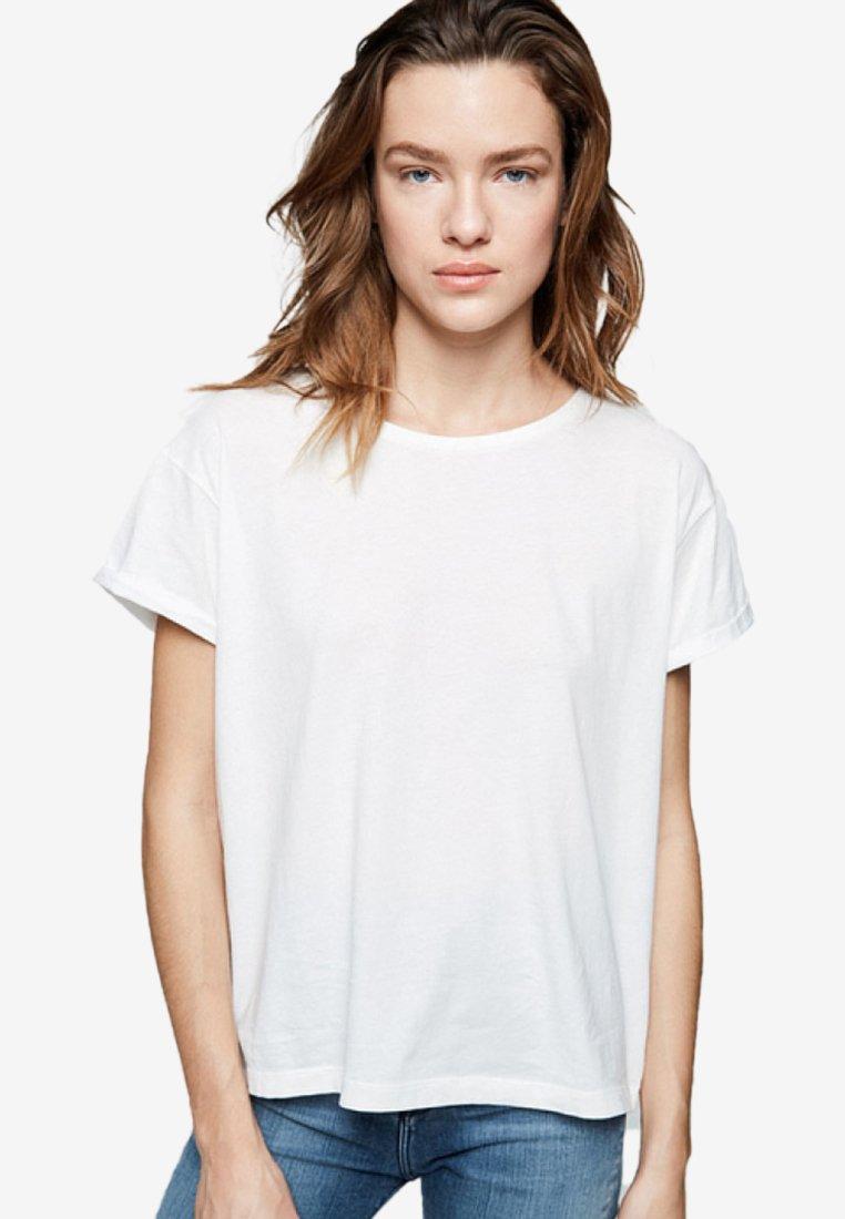 ARMEDANGELS - ILKAA - Print T-shirt - off-white