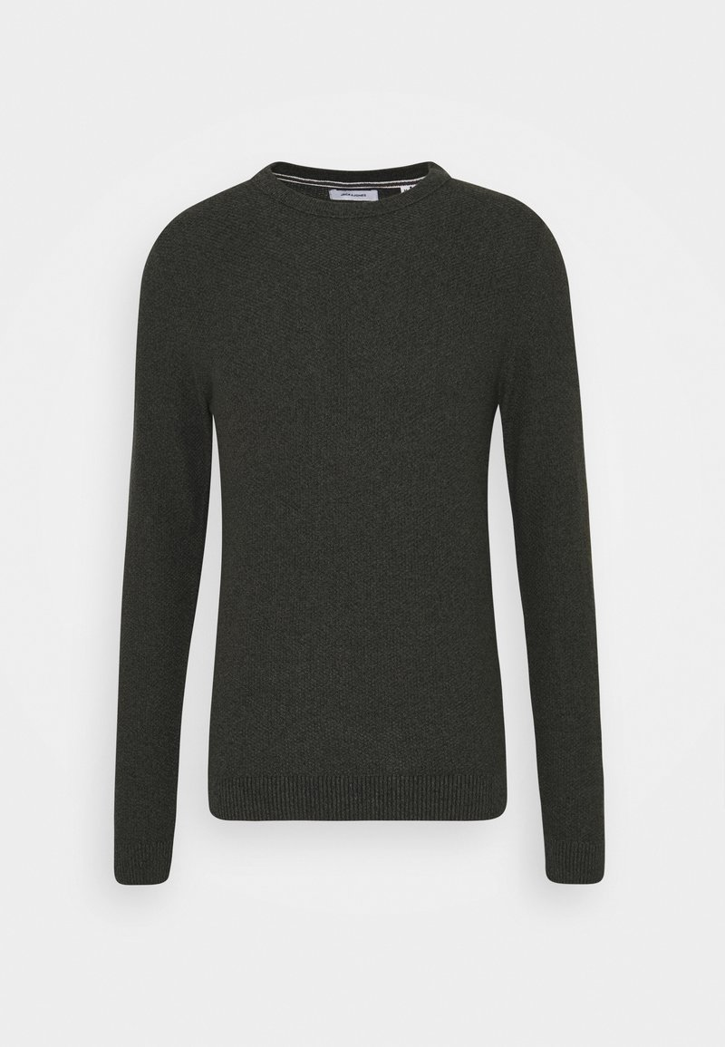 Jack & Jones JJEAARON - Strickpullover - port royale/dunkelrot otNdFc