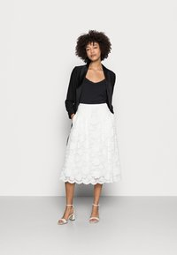Esprit Collection - SKIRT - A-line skirt - off white - 1