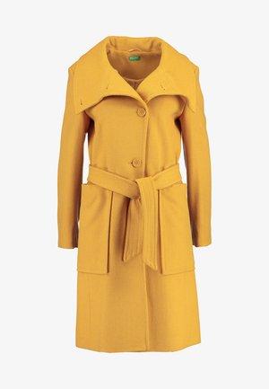 COAT - Płaszcz wełniany /Płaszcz klasyczny - mustard