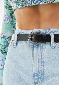 Bershka - Belt - black - 1