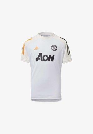 MANCHESTER UNITED TRAINING JERSEY - Voetbalshirt - Land - white