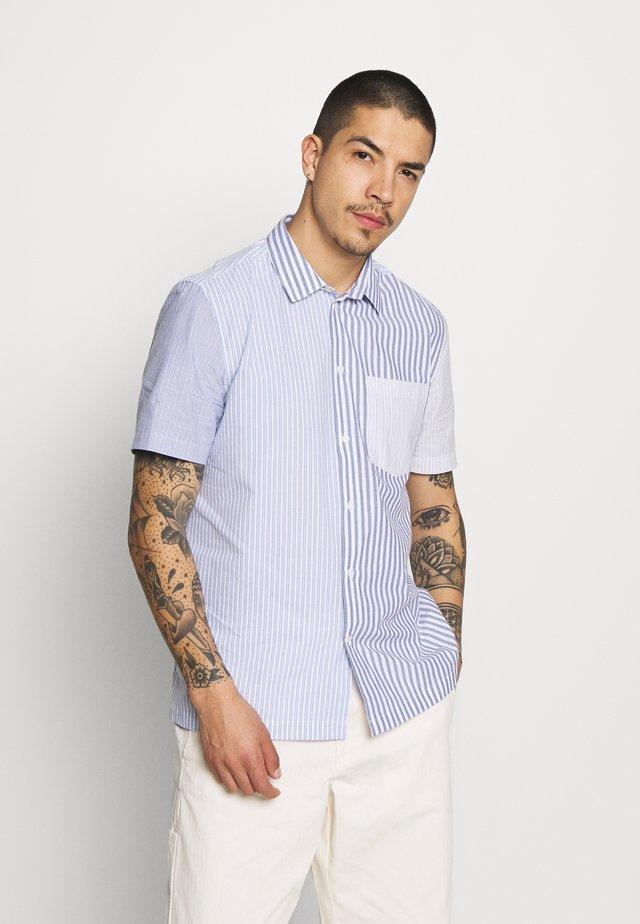THOR STRIPE SHIRT - Shirt - blue