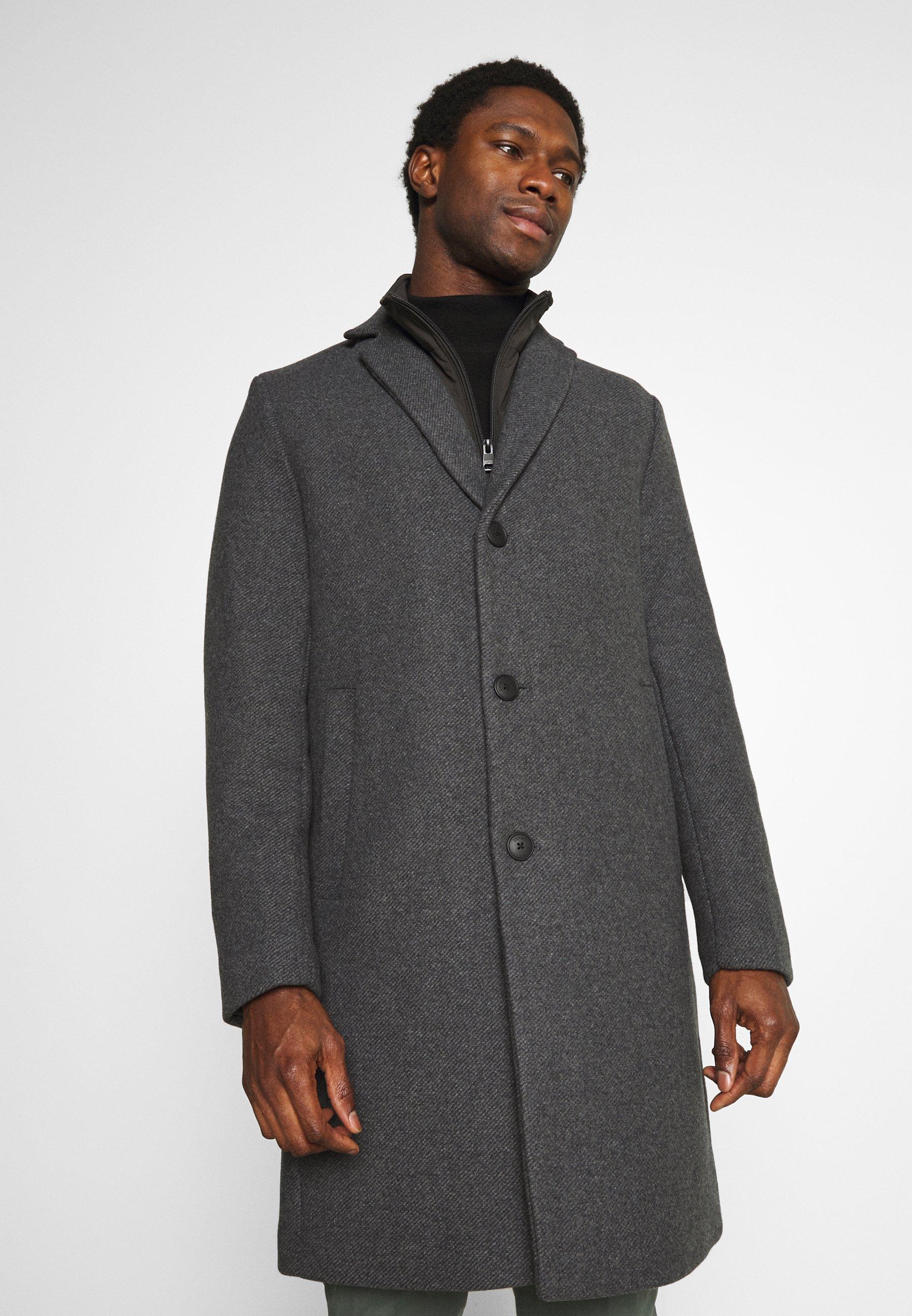 Men COAT - Classic coat - grey