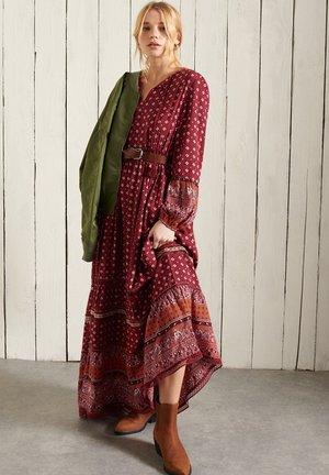 AMEERA - Maxi dress - rust