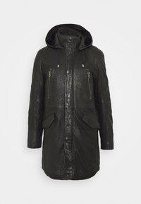 Gipsy - GBESMOND - Leather jacket - black - 0
