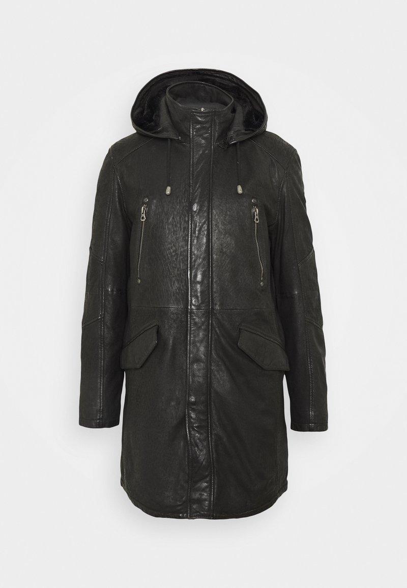 Gipsy - GBESMOND - Leather jacket - black