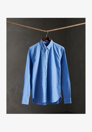 Shirt - dobby stripe blue