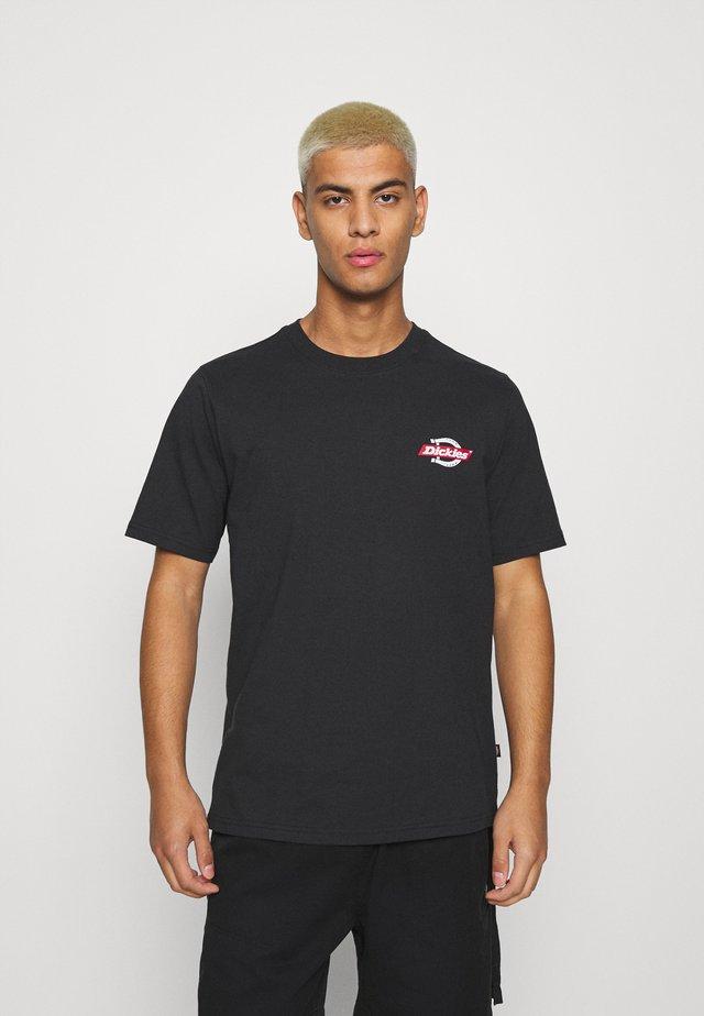 RUSTON TEE - T-shirt imprimé - black