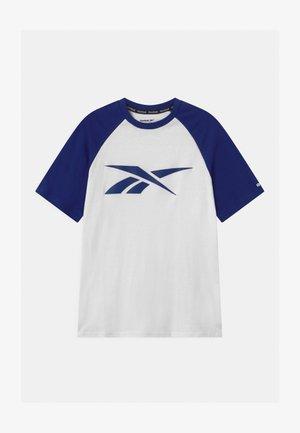 VECTOR RAGLAN UNISEX - Print T-shirt - navy