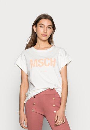 ALVA SEASONAL TEE - T-shirts - egret/sands