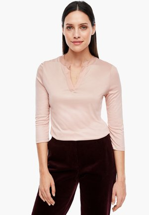 MIT SATINBLENDE - Blouse - dusty rose