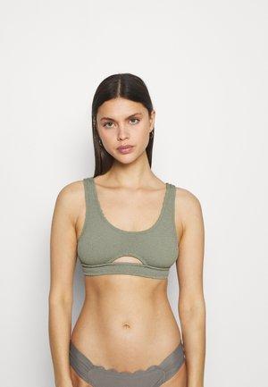 Bikini top - vert/light moss
