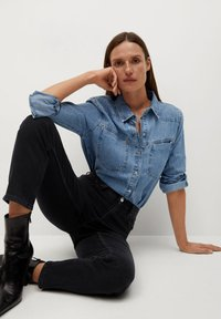 Mango - NEWMOM - Slim fit jeans - black denim - 4