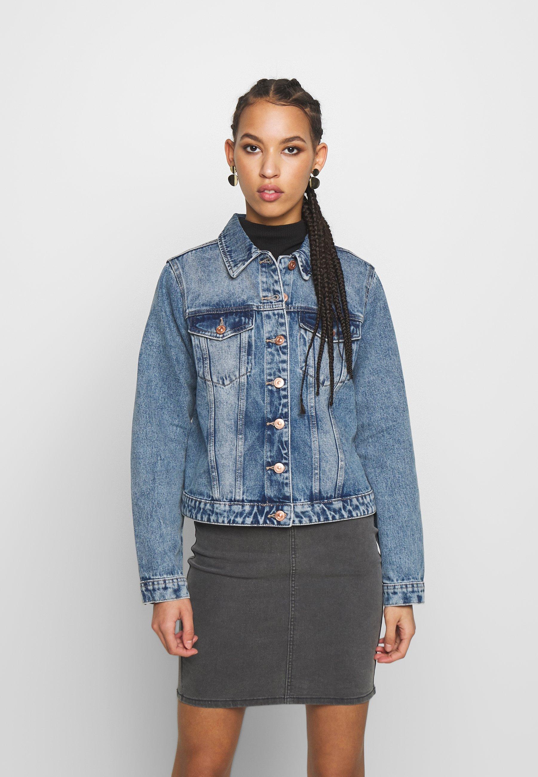 Women PCLOU JACKET - Denim jacket