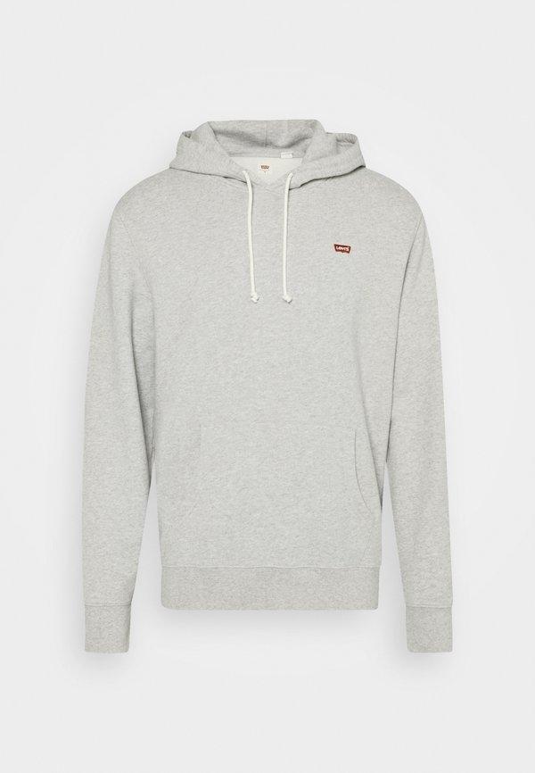 Levi's® NEW ORIGINAL HOODIE - Bluza z kapturem - eco gray heather/szary melanż Odzież Męska BIVJ