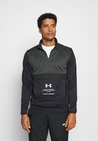 Under Armour - STORM 1/2 ZIP - Sweatshirts - baroque green - 0