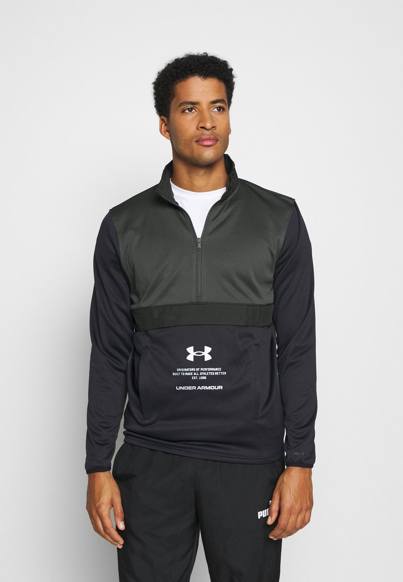 Under Armour - STORM 1/2 ZIP - Sweatshirts - baroque green
