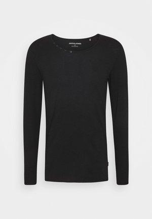 JJDETAIL  - Long sleeved top - black
