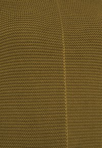 Marc O'Polo - LONGSLEEVE STRUCTURE MIX TURTLENECK - Jumper - olive green - 5