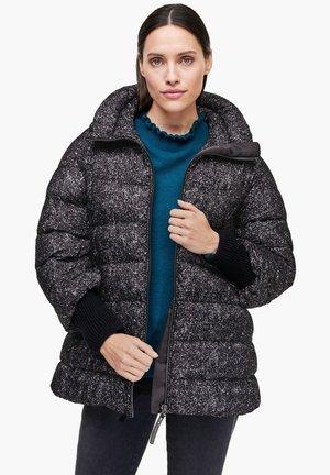 Winter jacket - black aop