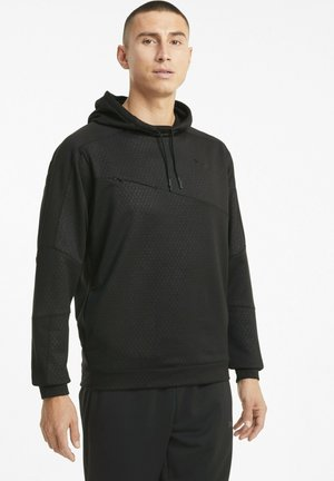 TRAIN ACTIVATE HOODIE - Hoodie - black
