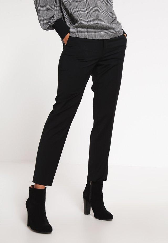 LUISA - Kalhoty - black