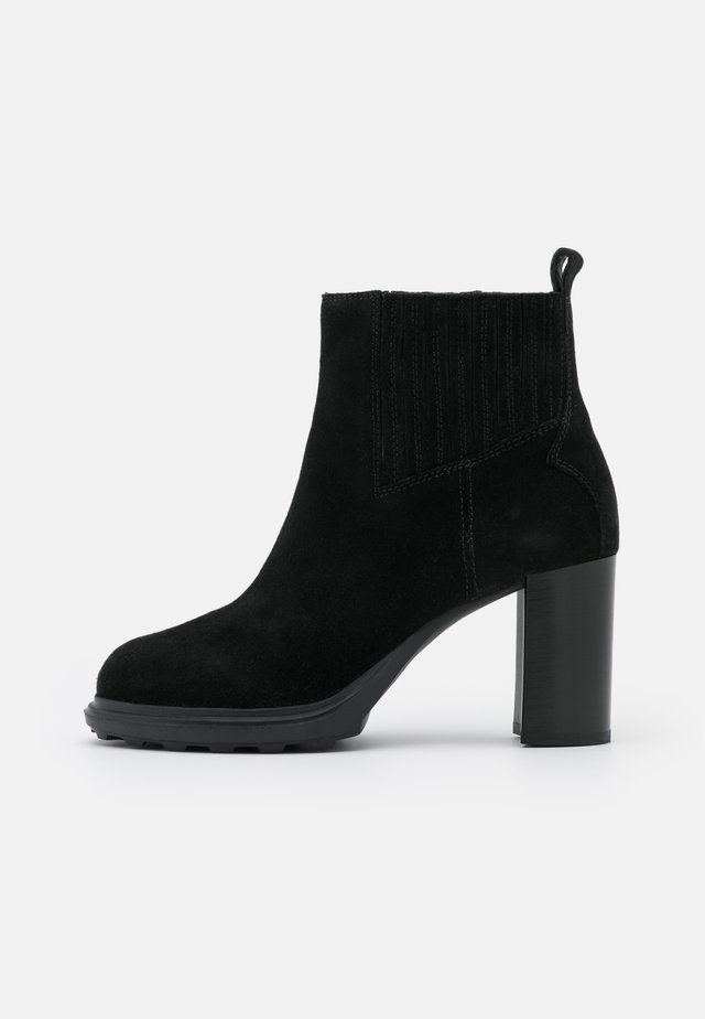 SALICE HIGH - Ankle boots - black