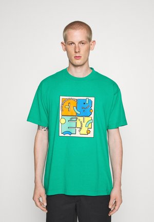 SHAPESHIFT - T-shirt print - bright jade
