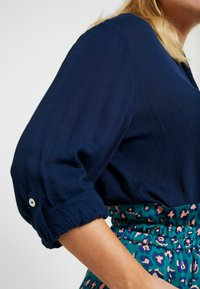 CAPSULE by Simply Be - Button-down blouse - navy - 5