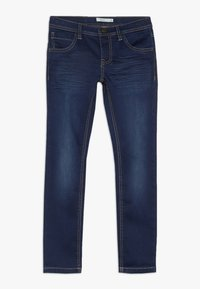 Name it - NKMROSS DNMTHAYER PANT - Slim fit jeans - dark blue denim - 0
