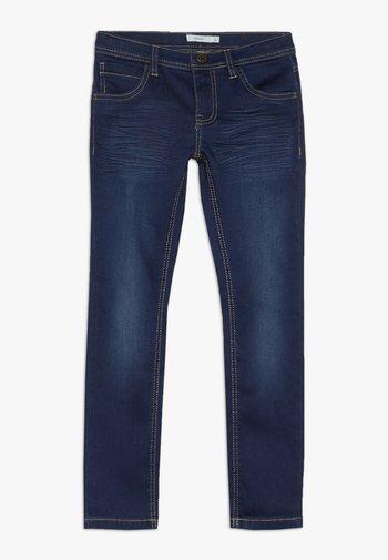 NKMROSS DNMTHAYER PANT - Slim fit jeans - dark blue denim
